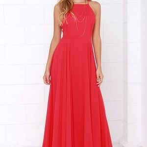 Mythical Kind of Love Red Maxi Dress - XS